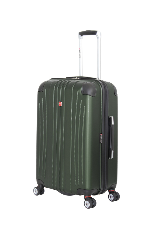 Wenger - 6171646165 Чемодан WENGER Ridge, цвет зелёный , АБС-пластик, 42х28х65см , 60л (6171646165)