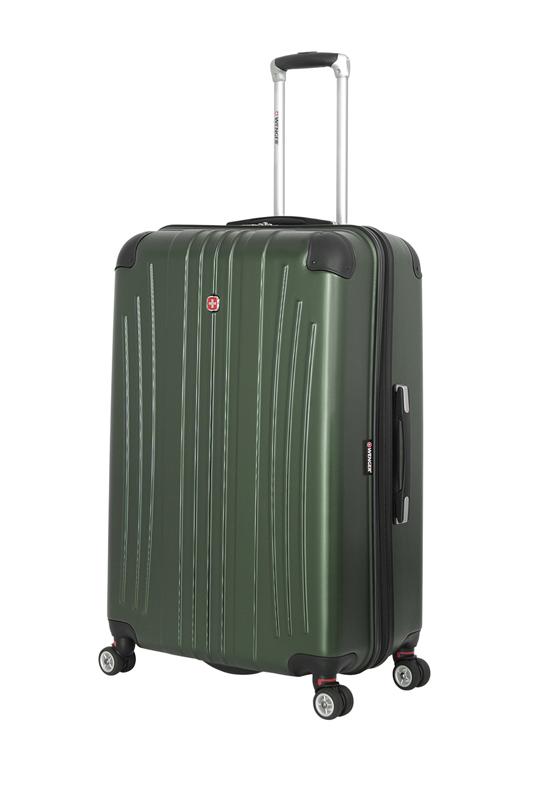 Wenger - 6171646175 Чемодан WENGER Ridge, цвет зелёный , АБС-пластик, 47х30,5х75 см , 92л (6171646175)
