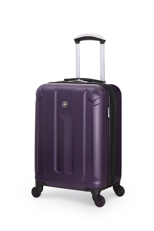 Wenger - 6573909154 Чемодан WENGER ZURICH III, фиолетовый, АБС-пластик, 35,5x23x56 см, 34 л<br>  (6573909154)