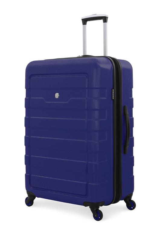 Wenger - 6581343177 Чемодан SWISSGEAR TRESA, синий, АБС-пластик, 48x30x76 см, 100 л<br>  (6581343177)