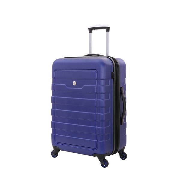 Wenger - WG6581343165 Чемодан WENGER TRESA, синий, АБС-пластик, 46x27x66 см, 66 л (WG6581343165)
