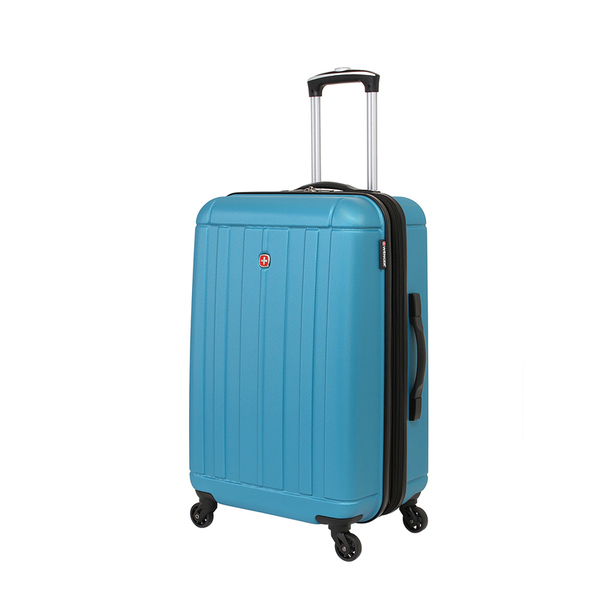 Wenger - WGR6297343167 Чемодан WENGER USTER, голубой, АБС-пластик, 41x26x58 см, 62 л (WGR6297343167)
