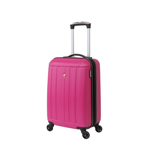 Wenger - WGR6297808154 Чемодан WENGER USTER, розовый, АБС-пластик, 34x22x55 см, 37 л (WGR6297808154)