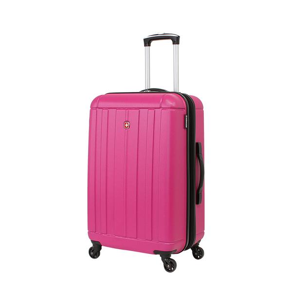 Wenger - WGR6297808167 Чемодан WENGER USTER, розовый, АБС-пластик, 41x26x58 см, 62 л (WGR6297808167)