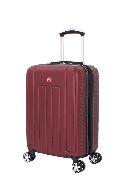 Wenger - WGR6399131154 Чемодан WENGER VAUD, бордовый, с подставкой для кофе, АБС-пластик, 47 x 23 x 35 см, 38 л (WGR6399131154)