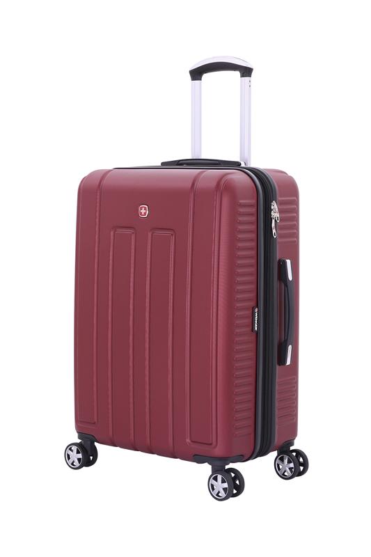 Wenger - WGR6399131167 Чемодан WENGER VAUD бордовый, АБС-пластик, 59 x 26,5 x 42 см, 66 л (WGR6399131167)