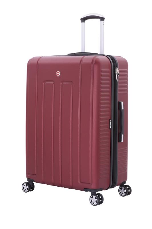 Wenger - WGR6399131177 Чемодан WENGER VAUD бордовый, АБС-пластик, 69 x 30 x 48 см, 99 л (WGR6399131177)