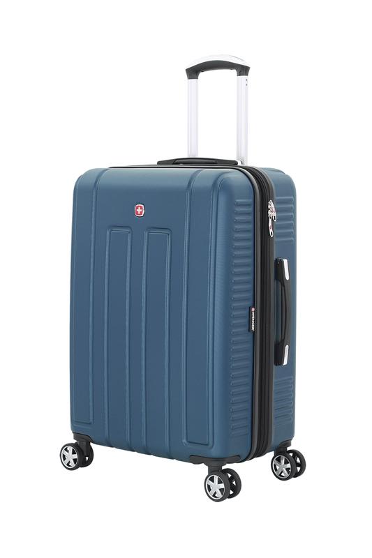 Wenger - WGR6399343167 Чемодан WENGER VAUD синий, АБС-пластик, 59 x 26,5 x 42 см, 66 л (WGR6399343167)