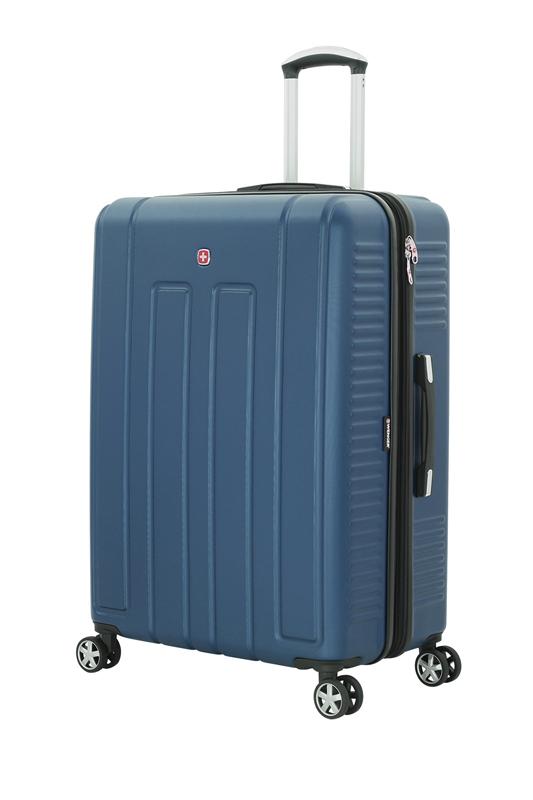 Wenger - WGR6399343177 Чемодан WENGER VAUD синий, АБС-пластик, 69 x 30 x 48 см, 99 л (WGR6399343177)