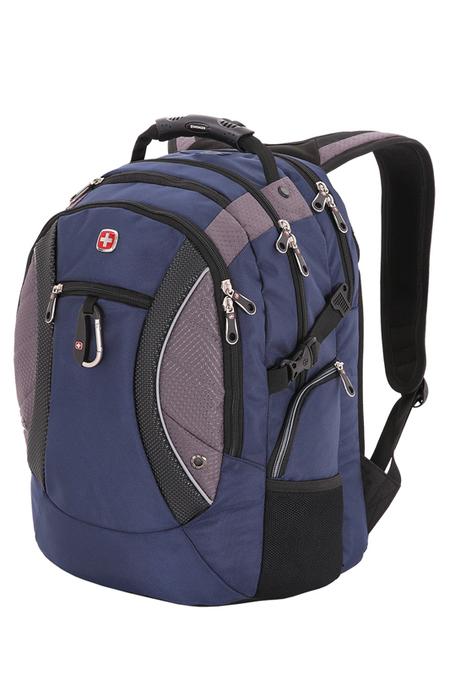 1015315 Рюкзак WENGER, синий/серый, 900D, 35х23х48 см, 39 л (1015315)