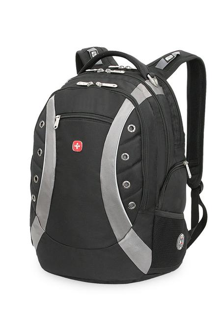 1191215 Рюкзак WENGER, черный/серый, полиэстер 900D, 36х21х47 см, 35 л (1191215)