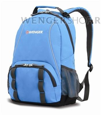 12903415 Рюкзак WENGER, розовый/серый, полиэстер 600D/добби, 32х14х45 см, 20 л (12903415)