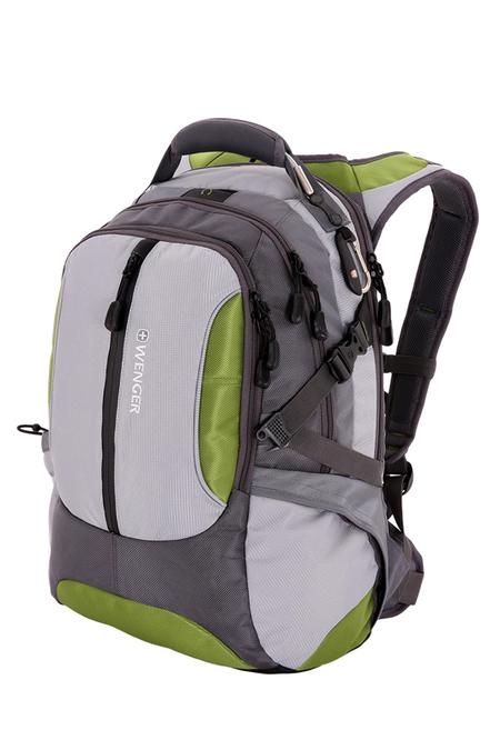 15914415 Рюкзак WENGER, зелёный/серый, полиэстер 1200D, 36х17х50 см, 30 л.  (15914415)