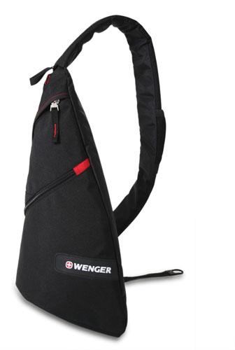18302130 Рюкзак WENGER, черный/красный, 25x15x45 см, 7 л. (18302130)