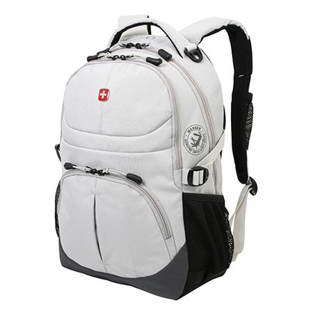 3001402408 Рюкзак WENGER, серый, полиэстер, 33х15х45 см, 22 л (3001402408)