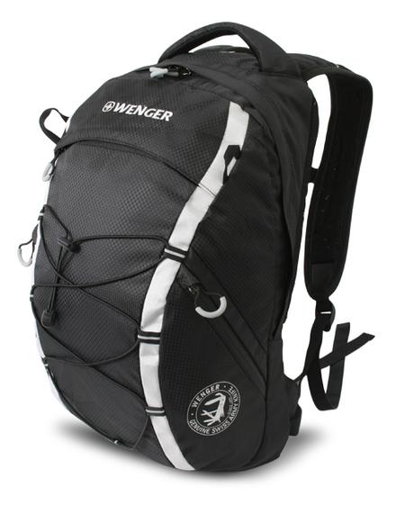 30532499 Рюкзак WENGER, черный/серый, полиэстер 900D, 29х19х47 см, 25 л (30532499)