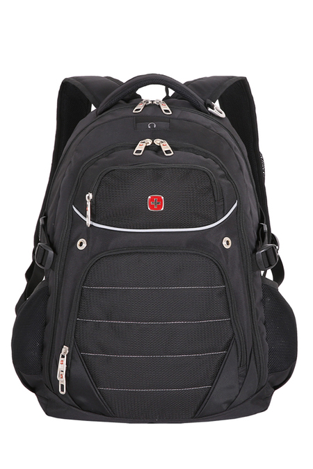 3107202410 Рюкзак WENGER, черный, полиэстер 900D, 33x20x47 см, 32 л. (3107202410)