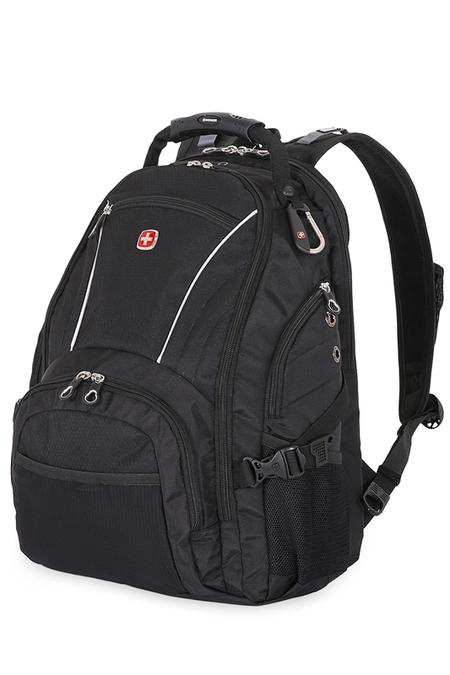 3181032000408 Рюкзак WENGER, чёрный, полиэстер 900D/М2 добби, 36x19x47 см, 32 л.  (3181032000408)