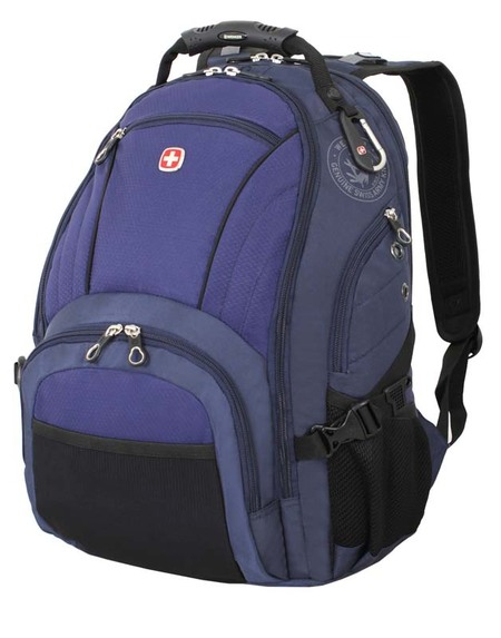 3181303408 Рюкзак WENGER, синий/чёрный, полиэстер 900D/хонейкомб, 35x19x44 см, 29 л. (3181303408)