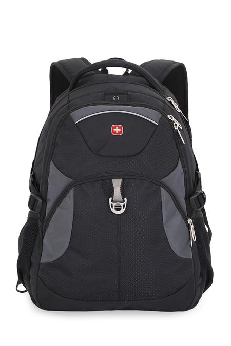 3259204410 Рюкзак WENGER, чёрный/серый, полиэстер, 34х17х47, 26 л (3259204410)