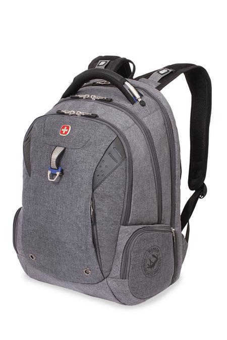5902403416 Рюкзак WENGER 15'' «SCANSMART», cерый, ткань Grey Heather/ полиэстер 600D PU , 32х24х46 см, 35 л. (5902403416)