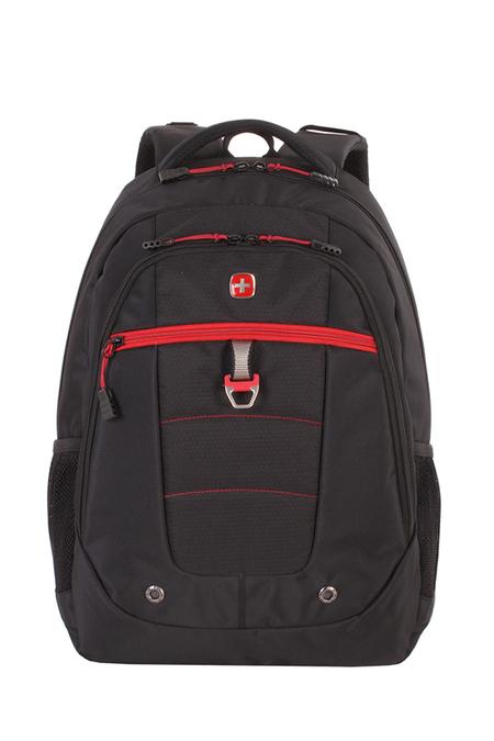 5918201419 Рюкзак WENGER, черный/красный, полиэстер, 900D, 47х34х18 см, 29 л.  (5918201419)