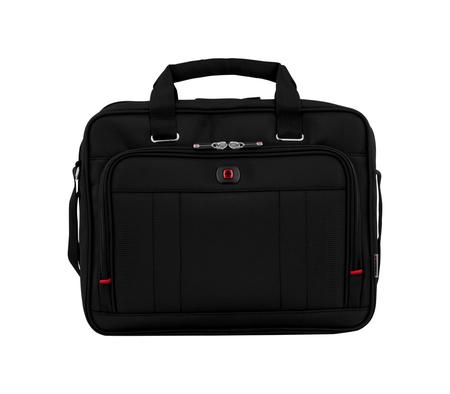 600645 Портфель для ноутбука 16'' WENGER, черный, полиэстер / ПВХ, 41 x 15 x 34 см, 12 л (600645)
