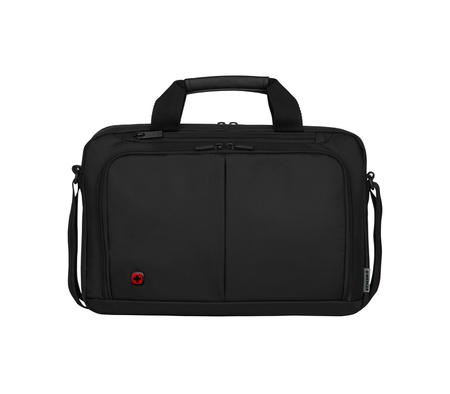 601064 Портфель для ноутбука 14'' WENGER, черный, нейлон / ПВХ, 39 x 8 x 25 см, 5 л (601064)