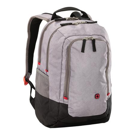 602656 Рюкзак для ноутбука 14'' WENGER, серый, нейлон/полиэстер, 29 x 24 x 43 см, 20 л (602656)