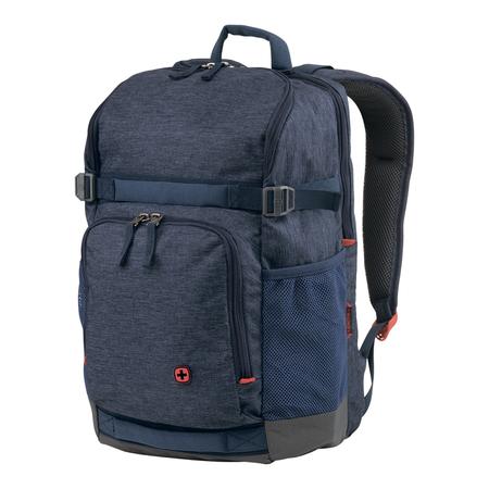 602657 Рюкзак для ноутбука 16'' WENGER, синий, полиэстер, 30 x 25 x 45 см, 24 л (602657)