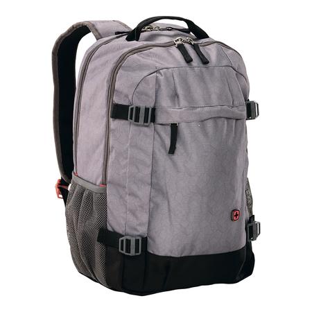 602658 Рюкзак для ноутбука 16'' WENGER, серый, полиэстер, 33 x 28 x 46 см, 28 л (602658)