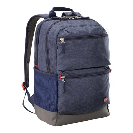 605013 Рюкзак для ноутбука 16'' WENGER, синий, полиэстер, 31 x 20 x 46 см, 22 л (605013)