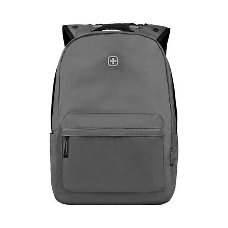605033 Рюкзак WENGER 14'', серый, полиэстер, 28 x 22 x 41 см, 18 л (605033)