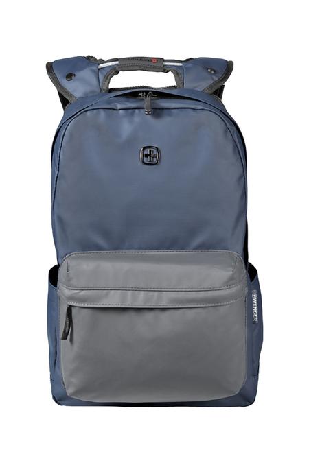 605035 Рюкзак WENGER 14'', синий/серый, полиэстер, 28 x 22 x 41 см, 18 л (605035)