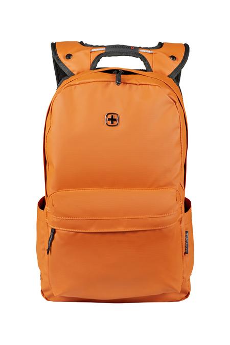 605095 Рюкзак WENGER 14'', оранжевый, полиэстер, 28 x 22 x 41 см, 18 л (605095)