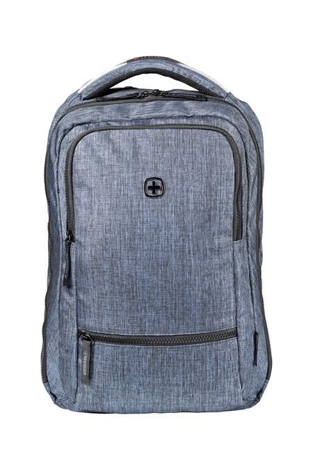605200 Рюкзак WENGER 14'', синий, полиэстер, 26 x 19 x 41 см, 14 л (605200)