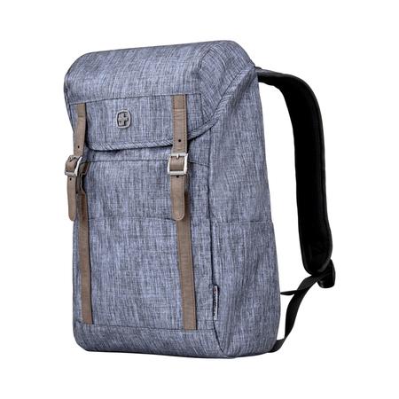 605201 Рюкзак WENGER 16'', синий, полиэстер, 29 x 17 x 42 см, 16 л (605201)
