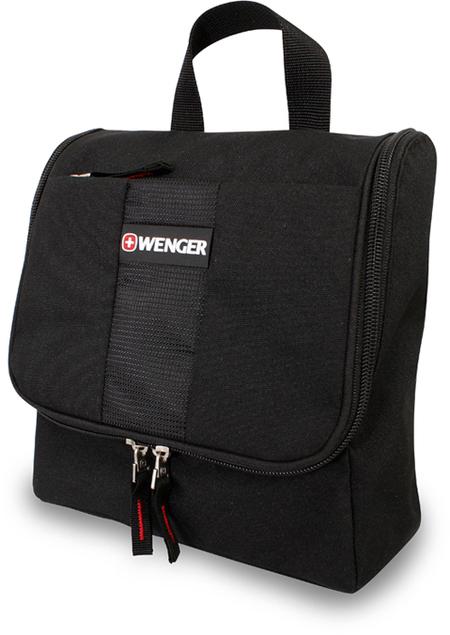 608510 Несессер WENGER, черный, полиэстер, 22х8х24 см. (608510)