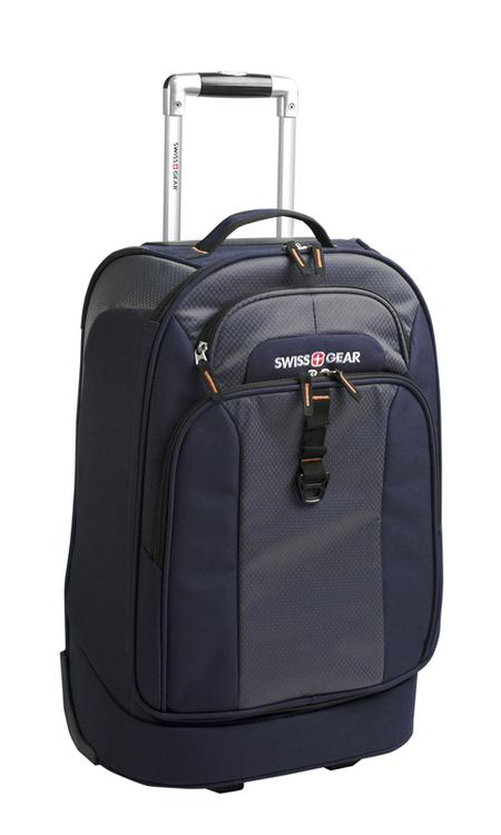 6166344111 Сумка на колесах SWISSGEAR Sport Line, синий/серый, полиэстер 600Dx600D/рипстоп 420X250D, 36x20x53 см, 38 л. SWISSGEAR (6166344111)
