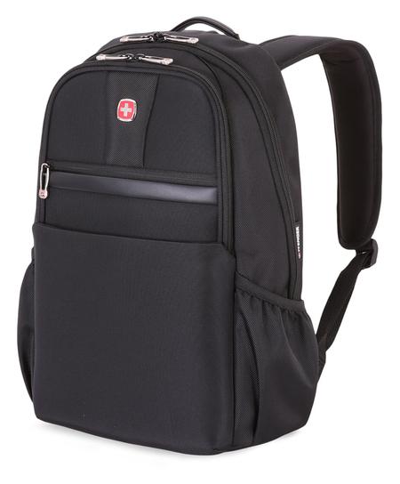 6369202406 Рюкзак WENGER 17'', черный, полиэстер 1680D, 32х15х43 см, 21 л.  (6369202406)