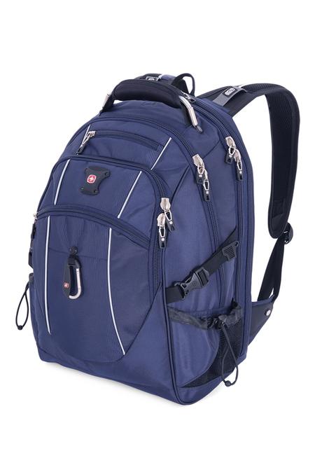 6677303408 Рюкзак WENGER, синий/серебристый, полиэстер 900D/М2 добби, 34x23x48 см, 38 л. (6677303408)