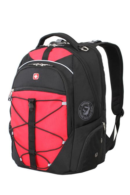 6772201408 Рюкзак WENGER, чёрный/красный, полиэстер 900D/М2 добби, 34x19x46 см, 30 л. (6772201408)