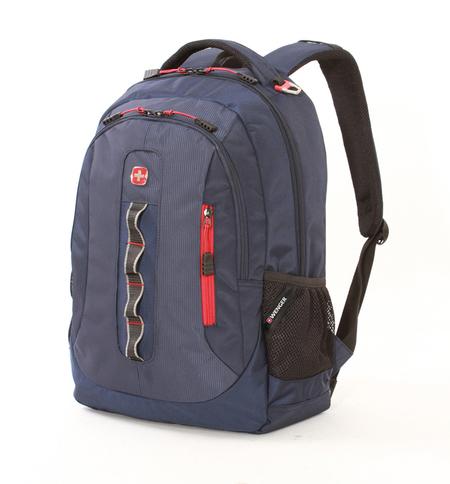6793301408 Рюкзак WENGER темно-синий, полиэстер 900D, 44х35х18 см, 28 л.  (6793301408)