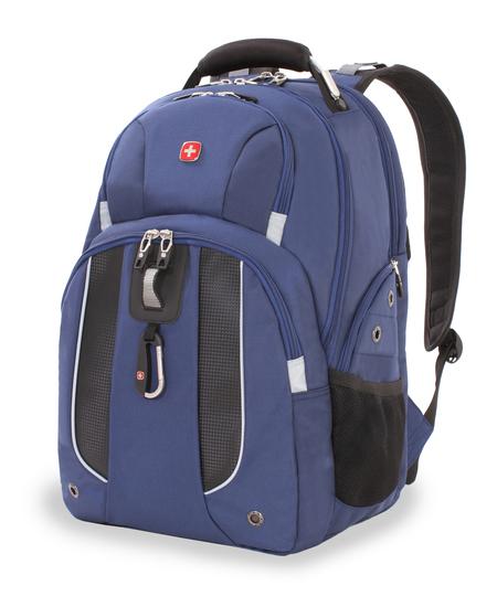 6918303408 Рюкзак WENGER, синий, полиэстер 900D, 47х34х16,5 см, 26 литров (6918303408)