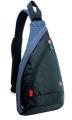 Wenger - 1092230 Рюкзак WENGER, черный/серый,900D 25x15x45 см, 7 л.  (1092230)