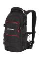Wenger - 13022215 Рюкзак, чёрный/красный, полиэстер 1200D PU, 23х18х47 см, 22 л.  (13022215)