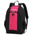 Wenger - 17222015 Рюкзак WENGER, чёрный/розовый, полиэстер, 32х14х45 см, 20 л.  (17222015)
