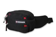 Wenger - 18282167 Сумка на пояс WENGER, черный, полиэстер M2, 23х9х7 см. (18282167)