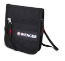 Wenger - 18312168 Кошелек на шею WENGER, черный/красный, 25x15x45 см, 7 л. (18312168)