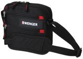 Wenger - 18322135 Сумка для документов WENGER, черный, полиэстер 600D, 23x5x18 см.  (18322135)